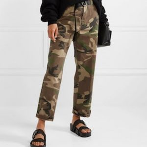 Pants - Vintage Express Wide Leg Camo Pants